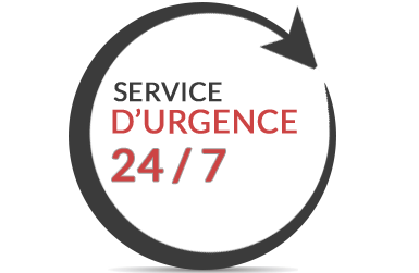 service urgence 24 heures 7 jours